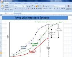 earned value management templates in excel xls u2013 project