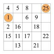 9 best number puzzles hidato images on pinterest number