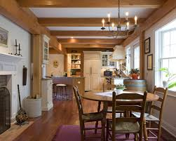 Traditional Colonial Farmhouse Dining Room Bridgeport By - Colonial dining rooms