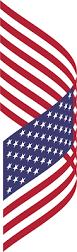 Big American Flags Clipart American Flag Breezy 2