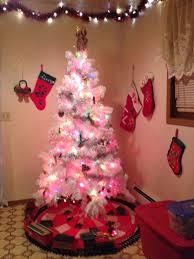 white christmas trees walmart christmas lights decoration