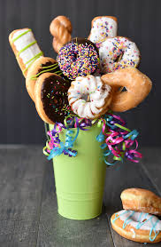food bouquets donut bouquet gift idea squared
