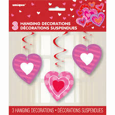 heart decorations hanging i heart decorations 3ct