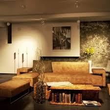 Wohnzimmerwand Braun Gemütliche Innenarchitektur Gemütliches Zuhause Wohnzimmer In