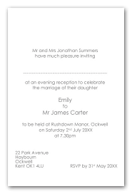 wedding invitations kent wedding invitation wording brides parents as hosts evening