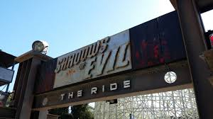 Six Flags Fear Fest Shadows Of Evil Theme Park Ride Boiii News U0026 Announcements