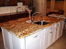 Kitchen Island Granite Countertop Stunning Modern White Decoration Black Quartz Countertops