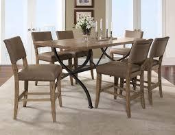 counter dining chairs hillsdale charleston 7pc rectangle counter dining set w parson chairs