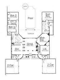 villa plans villa de saye 7725 3 bedrooms and 2 baths the house designers