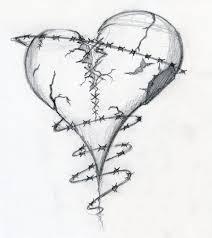 broken heart drawings broken heart by dravek on deviantart