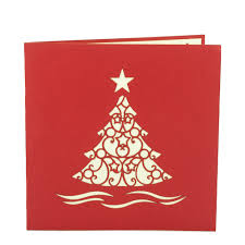 christmas tree pop up card best 3d card shop in australia new