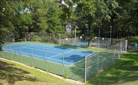 marvelous tennis court in backyard idea home design