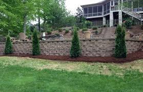 Retaining Garden Walls Ideas Retainer Walls Landscaping Is Retaining Wall Landscaping Fabric