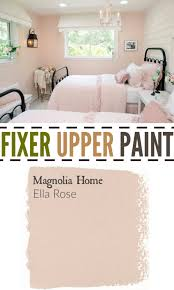 fixer upper paint color ella rose perfect color for a little