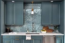 white kitchen cabinets with blue subway tile 30 creative subway tile backsplashes subway tile ideas for