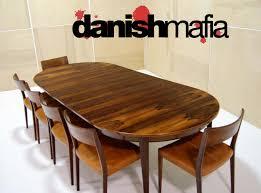 danish modern gunni omann 55 omann jun rosewood dining table
