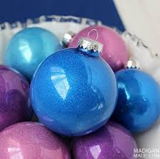 simple diy glitter ornaments rosyscription