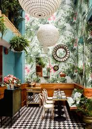 Interior Designers San Francisco Tropical Interior Design For An Oyster Bar In San Francisco
