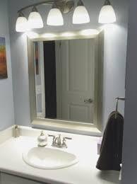 bathroom cool bathroom lighting and mirrors home design new