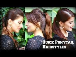easy indian hairstyles for school easy everyday messy bun hairstyle for fine thin hair for school