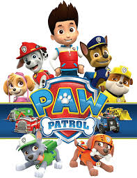 png no background halloween logo pawpatrol with logo png transparent paw patrol clipart png