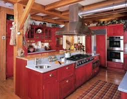 Vintage Looking Kitchen Cabinets Red Country Kitchens Atticmag