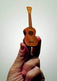 printable and foldable ukelele pattern so miniature