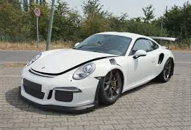 porsche 911 gt3 price 2016 porsche 911 gt3 rs crashes in germany gtspirit