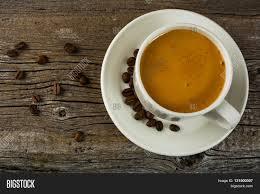 white coffee mug top view coffee image u0026 photo bigstock