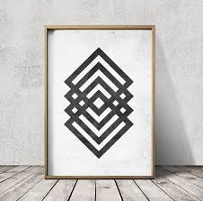 best 25 geometric prints ideas on pinterest abstract posters