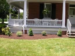 landscaping ideas for wrap around porches our new landscape