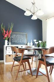 navy blue dining room with wainscoting enchanting living room blue