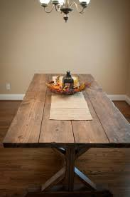 Make Your Own Outdoor Wood Table by Wide Plank Farmhouse Table Stained Wood Diy Boards Make Yourself
