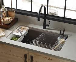 kitchen amazing ceramic sink kitchen faucets kohler cast iron