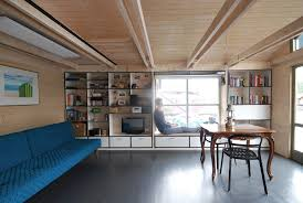 houseboat mjölk architekti archdaily