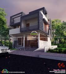 Home Design For Plot by East Facing Contemporary Home Kerala Home Design Bloglovin U0027