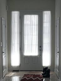 Half Window Curtains Front Door Window Panel Zc Front Door Side Window Curtain Panels