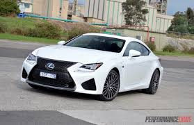 lexus rcf white interior 2015 lexus rc f review video performancedrive