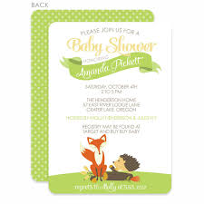 woodland creatures baby shower woodland creatures baby shower invitation pipsy