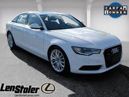 len stoler audi owings mills ibis white 2013 audi a6 used car for sale ty19424