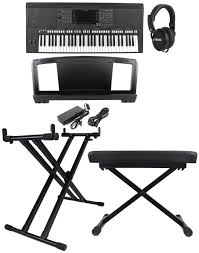 Keyboard Stand And Bench Yamaha Psr S750 Psrs750 Arranger Keyboard Bundle With Stand