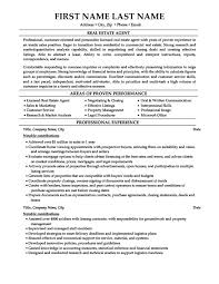 Leasing Consultant Resume Sample by Real Estate Agent Resume Sample Jennywashere Com