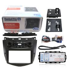 radio honda accord 2007 pac audio complete aftermarket car stereo dash kit for 2003 2007