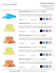 Wholesale Price Sheet Template Wholesale Linesheet Template Line Sheet Template Product