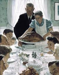 thanksgiving dinner history designed it and tom colicchio critiques