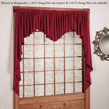 Valances Window Treatments by Interior Design Decorate Your Window By Using Swags Galore
