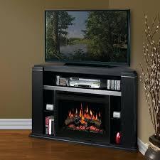 amazing electric corner fireplace tv stand suzannawinter com