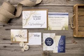 Beach Theme Wedding Invitations Wedding Invitations And Stationery Alicia U0027s Infinity