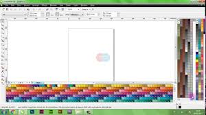 coreldraw tutorials how to show color palettes in coreldraw