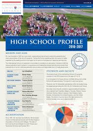 high profile 2016 2017 by international of lausanne